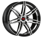 TEC Speedwheels GT2 black polished