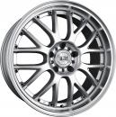 TEC Speedwheels GT AR1 silver polished lip